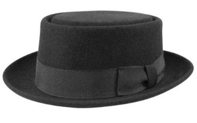 Bollman Collection 1940's Pork Pie Hat